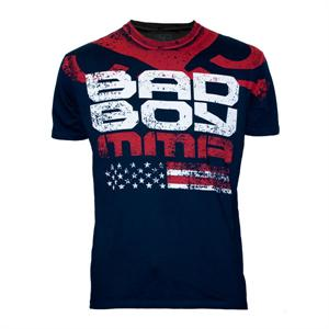 Bad Boy American Flag Midnight Blue Shirt